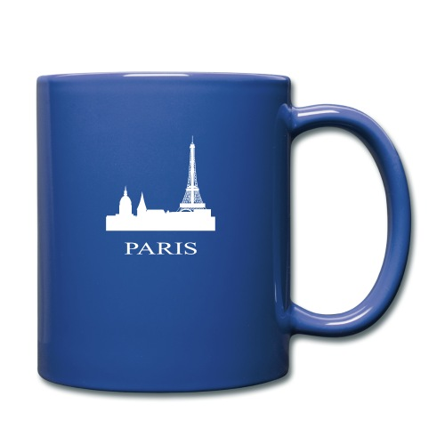 Paris, Paris, Paris, Paris, France - Full Colour Mug