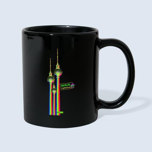 """Berliner Original """"Fernsehturm III"""" PopArt Design - Tasse einfarbig"""