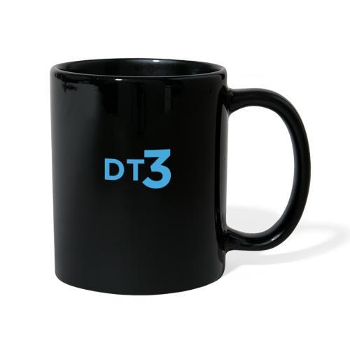 DT3 Logo - Blue - Tasse einfarbig