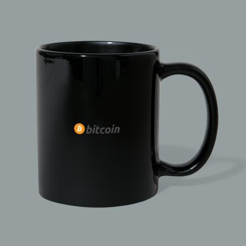Bitcoin Logo #BTC - Taza de un color
