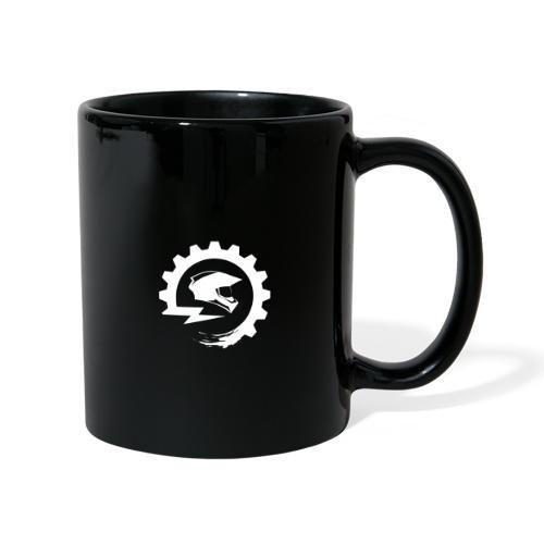Logo White - Tasse einfarbig