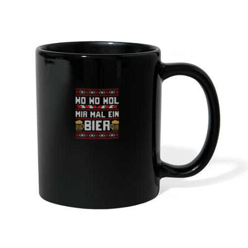 Ho Ho Hol mir mal ein Bier   lustiger Gerstensaft - Tasse einfarbig