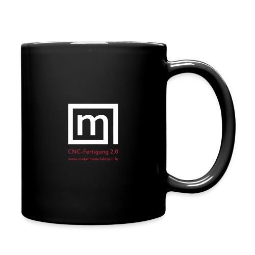 Logo_m_web - Tasse einfarbig