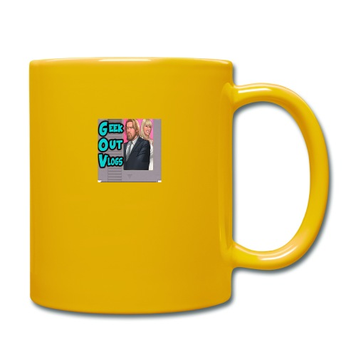 GeekOut Vlogs NES logo - Full Colour Mug