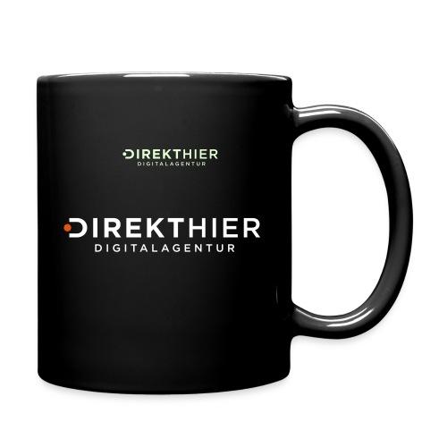 DIREKTHIER Logo - Tasse einfarbig
