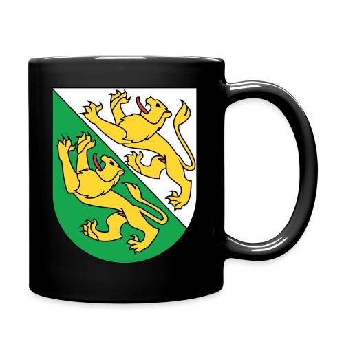 Wappen Thurgau matt svg 1 png - Tasse einfarbig