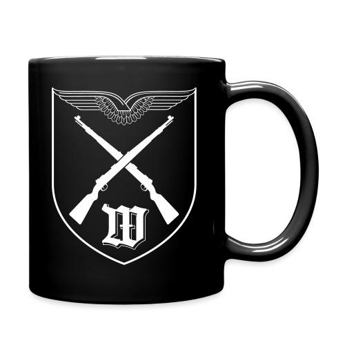 Wappen 5 WachBtl BMVg Weiß - Tasse einfarbig