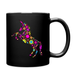 Unicorn-Floral - Tazza monocolore