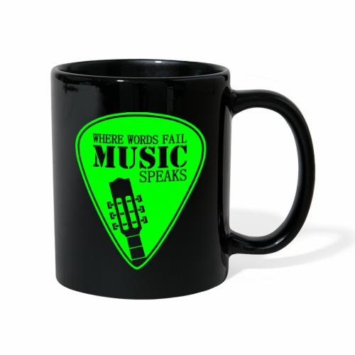 MUSIK - Tasse einfarbig