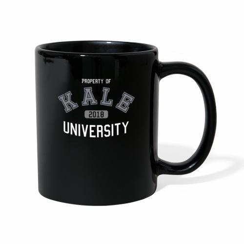 Kale University - Grünkohl Universität - Veganer - Tasse einfarbig