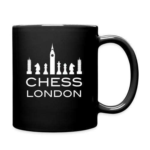 Schach London Weltmeister Schachfigur Geschenk - Tasse einfarbig