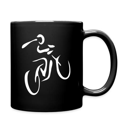 Fahrrad Fahrradfahren Fahrer Rad Fahrradfahrer - Tasse einfarbig