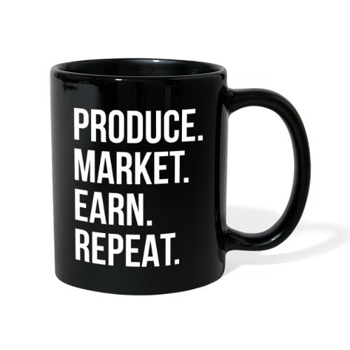 Produce. Market. Earn. Repeat. - Full Colour Mug
