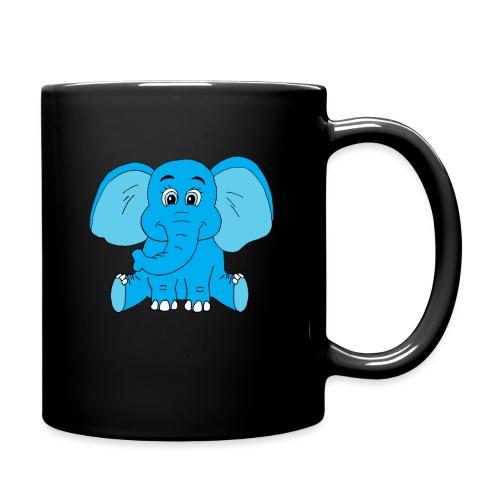 Baby Elefant - Tasse einfarbig