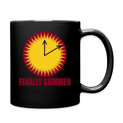 Finally Summer - Tasse einfarbig