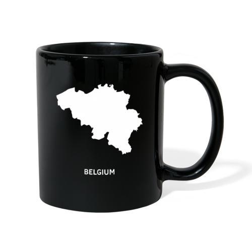 Europa Symbol Land Belgien Silhouette Staat - Tasse einfarbig