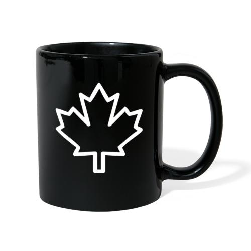 Kanada Symbol Ahorn Blatt Pflanze Nation - Tasse einfarbig