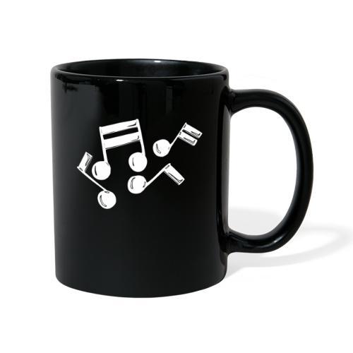 Musik Symbol Note Noten musiknoten spielen - Tasse einfarbig
