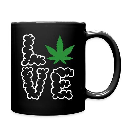 Love Weed - Tasse einfarbig