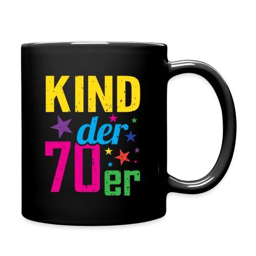 Kind der 70er - Tasse einfarbig