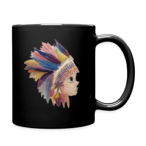 Indianerjunge - Tasse einfarbig