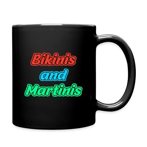 Bikinis & Martinis - Tasse einfarbig