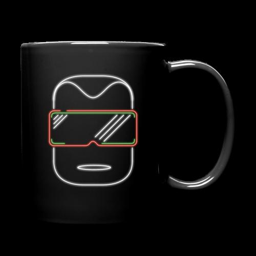 logo kopf - Tasse einfarbig