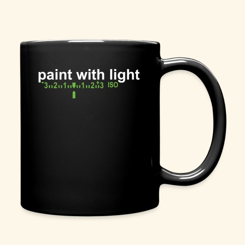 paint with light - Tasse einfarbig