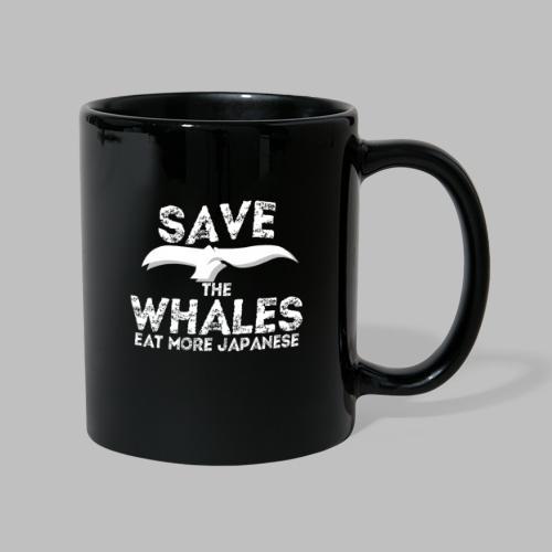 Rettet Wale esst mehr Japaner Geschenk - Tasse einfarbig