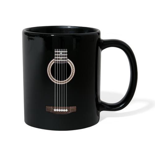 Akustische Gitarre - Tasse einfarbig