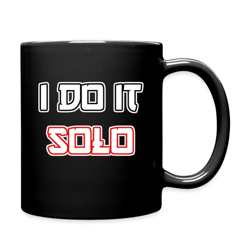 I Do It Solo - Tasse einfarbig