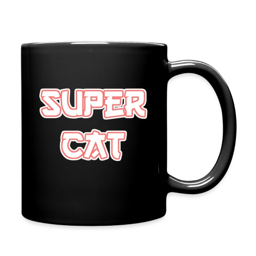 Super Cat - Tasse einfarbig