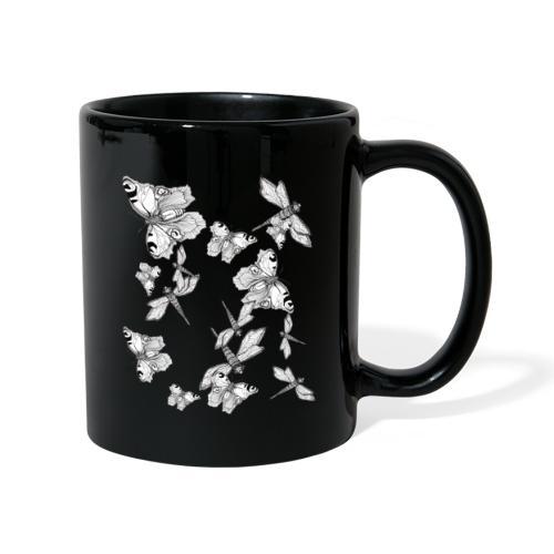 Libelle und Schmetterling - Glaube und Wahrheit - Tasse einfarbig