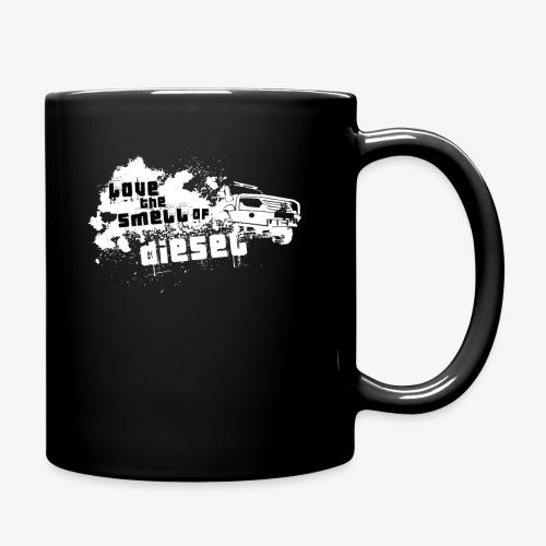 Love the smell of Diesel I Dieselholics - Tasse einfarbig