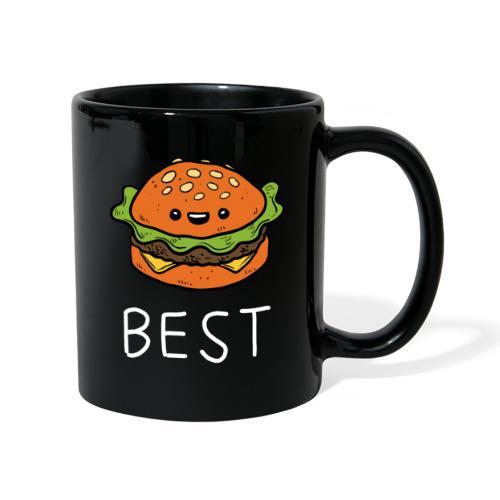 Beste Friends Burger und Pommes Partnerlook - Tasse einfarbig