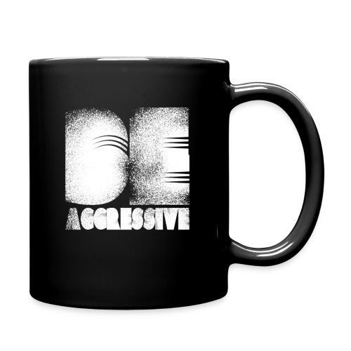 'BE AGGRESSIVE' Fitness, Workout, Gym - Tasse einfarbig