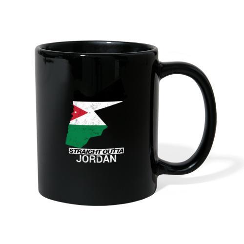 Straight Outta Jordan country map - Full Colour Mug