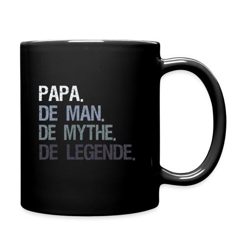 Papa de man de mythe de legende. Vaderdag cadeau - Mok uni
