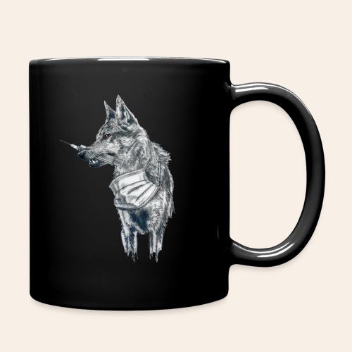 Corona Wolf - Tasse einfarbig