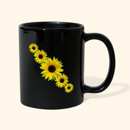 Sonnenblume, Sonnenblumen, Blumen - Tasse einfarbig