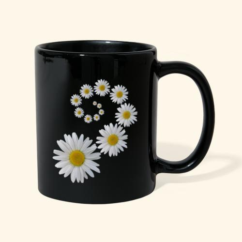 Margeriten Blume, Blumen, Blüte, floral, blumig - Tasse einfarbig