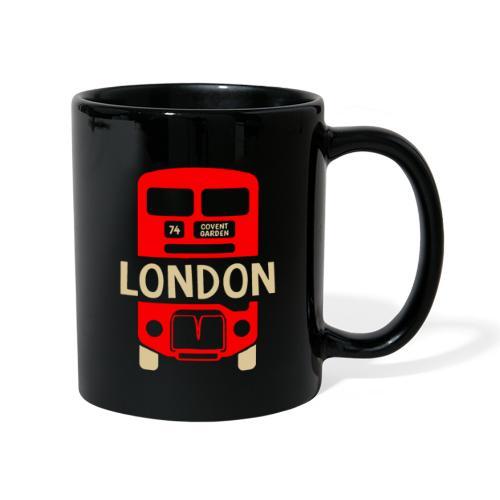 London Bus Roter Doppeldecker London Fan Souvenir - Tasse einfarbig