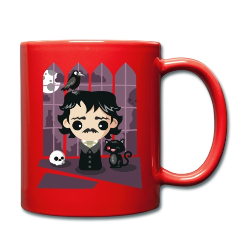 A damned Poe-t's house - Tazza monocolore