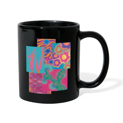 Collage der Natur - Tasse einfarbig