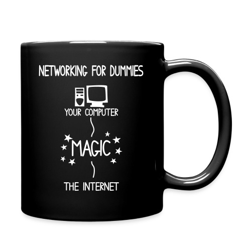 Network Schematic for Dummies - Full Colour Mug