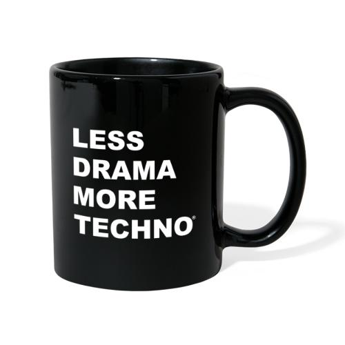 Less Drama More Techno - Mug uni