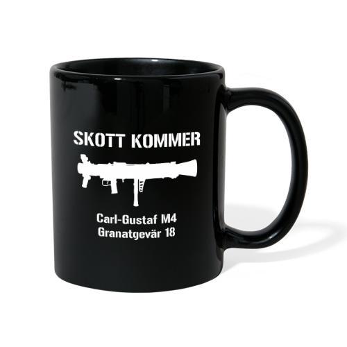 Skott Kommer CGM4 - Enfärgad mugg