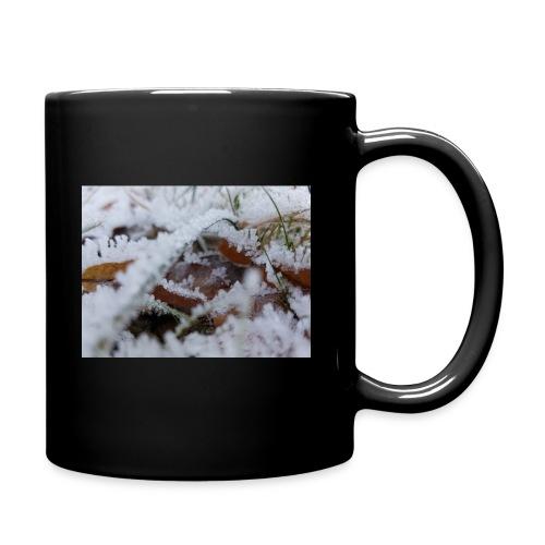 Schneekristalle - Tasse einfarbig