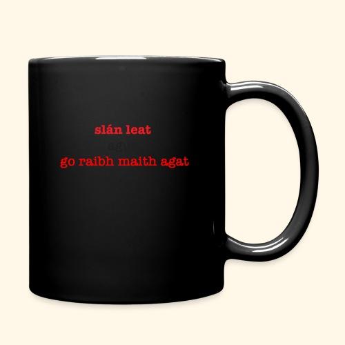 Good bye and thank you - Full Colour Mug