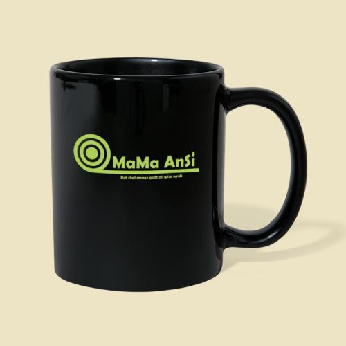 MaMa AnSi G logo - Ensfarvet krus